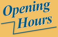 Restaurant Opening Hours